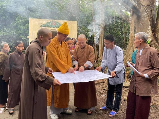 Thanh Hóa: Khảo sát khôi phục chùa Đồi Mai ảnh 1