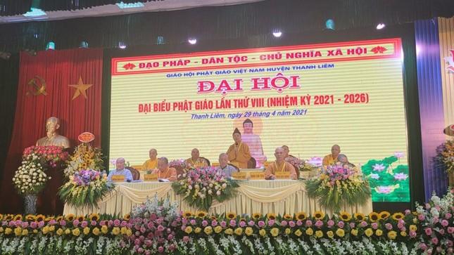 Hà Nam: Ni sư Thích nữ Đàm Thục làm Trưởng ban Trị sự Phật giáo huyện Thanh Liêm ảnh 3