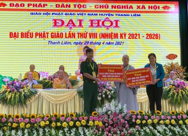 Hà Nam: Ni sư Thích nữ Đàm Thục làm Trưởng ban Trị sự Phật giáo huyện Thanh Liêm ảnh 4