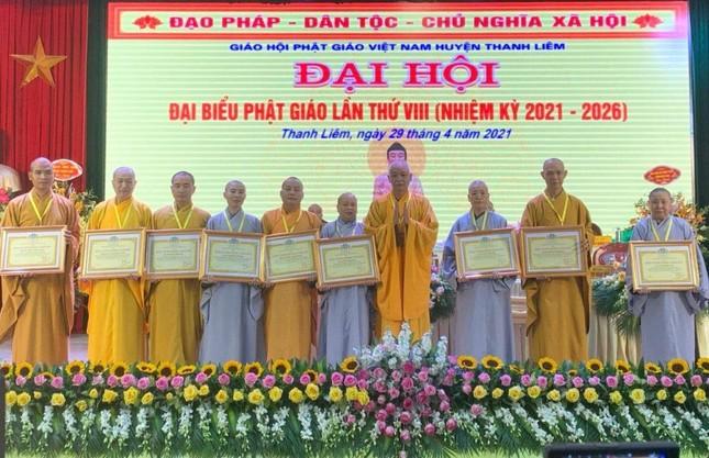 Hà Nam: Ni sư Thích nữ Đàm Thục làm Trưởng ban Trị sự Phật giáo huyện Thanh Liêm ảnh 2