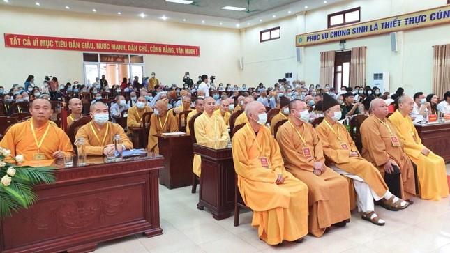 Hà Nam: Ni sư Thích nữ Đàm Thục làm Trưởng ban Trị sự Phật giáo huyện Thanh Liêm ảnh 1
