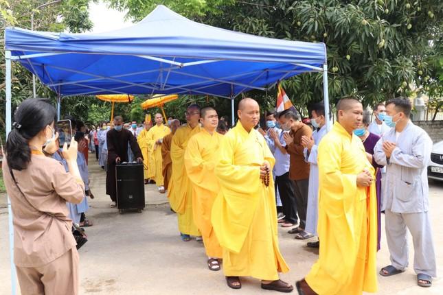 Chùa Phổ Môn rót đồng tạo tôn tượng Phật Dược Sư ảnh 1