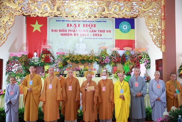 Bến Tre: Thượng tọa Thích Thiện Hạnh tiếp tục làm Trưởng ban Trị sự Phật giáo huyện Thạnh Phú ảnh 3
