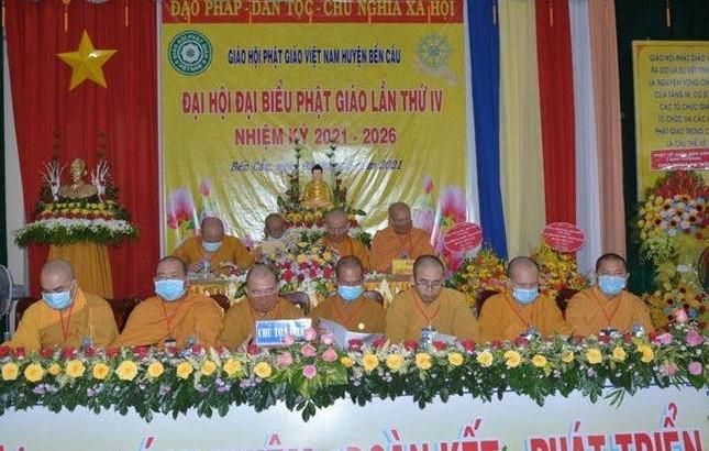 Tây Ninh: Đại đức Thích Nghiêm Bình làm Trưởng ban Trị sự Phật giáo huyện Bến Cầu ảnh 1
