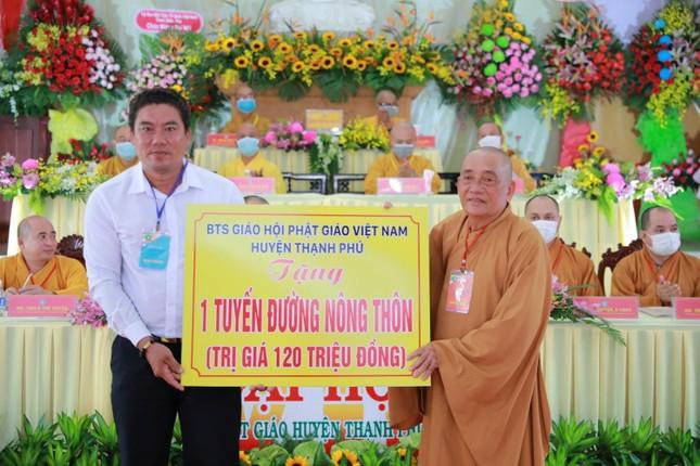 Bến Tre: Thượng tọa Thích Thiện Hạnh tiếp tục làm Trưởng ban Trị sự Phật giáo huyện Thạnh Phú ảnh 5