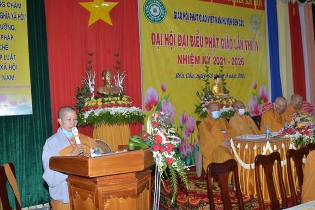 Tây Ninh: Đại đức Thích Nghiêm Bình làm Trưởng ban Trị sự Phật giáo huyện Bến Cầu ảnh 2
