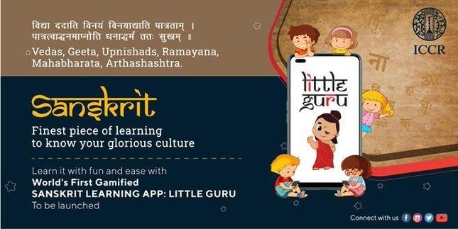 Hội đồng Quan hệ văn hóa Ấn Độ ra mắt ứng dụng học tiếng Phạn ảnh 1