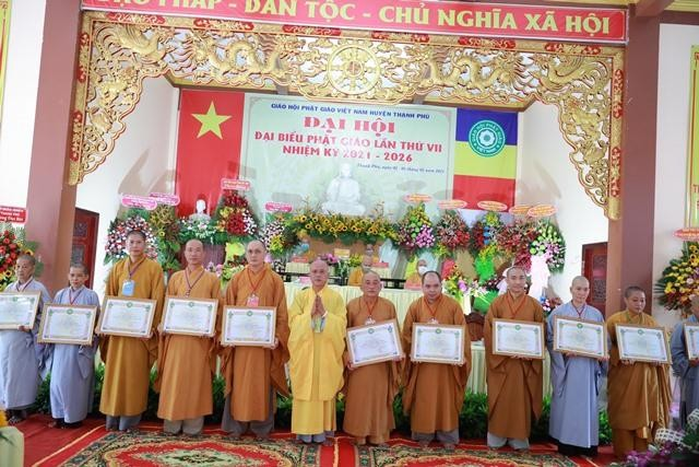 Bến Tre: Thượng tọa Thích Thiện Hạnh tiếp tục làm Trưởng ban Trị sự Phật giáo huyện Thạnh Phú ảnh 2