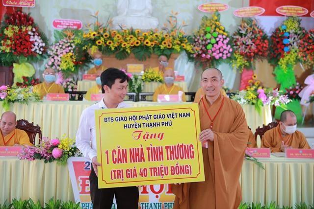 Bến Tre: Thượng tọa Thích Thiện Hạnh tiếp tục làm Trưởng ban Trị sự Phật giáo huyện Thạnh Phú ảnh 6