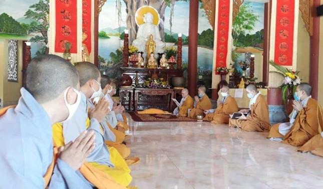 Quảng Nam: Chư Tăng, Ni huyện Đại Lộc trang nghiêm tác pháp an cư ảnh 2