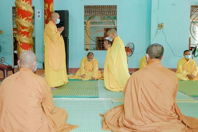 Quảng Nam: Chư Tăng chùa Minh Cẩm tác pháp an cư kiết hạ Phật lịch 2565 ảnh 1