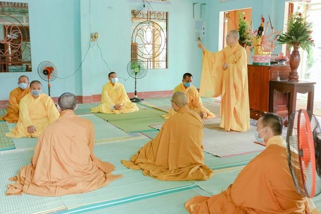 Quảng Nam: Chư Tăng chùa Minh Cẩm tác pháp an cư kiết hạ Phật lịch 2565 ảnh 2