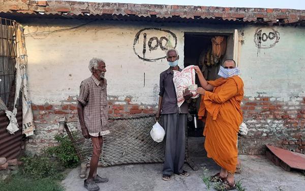 Ban Từ thiện xã hội Phật giáo Khất sĩ ủng hộ Tăng Ni và người dân tại Ấn Độ ảnh 1