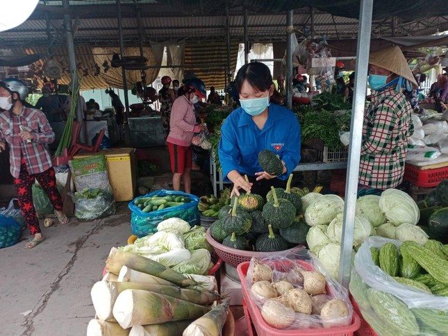 Thành lập và ra mắt đội 'Shipper áo xanh' huyện Tam Nông ảnh 1