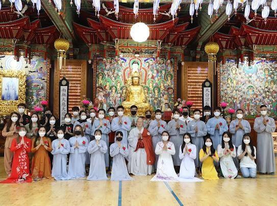 Phật tử Việt Nam tại Hàn Quốc tổ chức lễ Vu lan và gây quỹ chia sẻ khó khăn mùa dịch ảnh 1