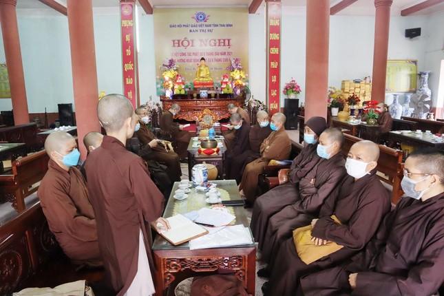 Thái Bình: Phân ban Ni giới tỉnh họp triển khai một số Phật sự quan trọng ảnh 1