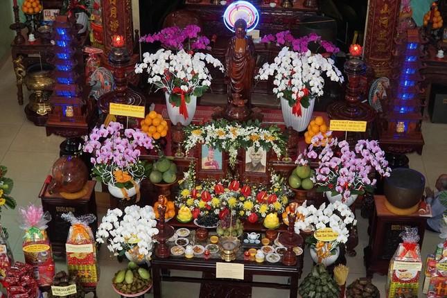 Lễ húy nhật Quốc sư Thích Phước Huệ tại chùa Giác Uyển ảnh 1