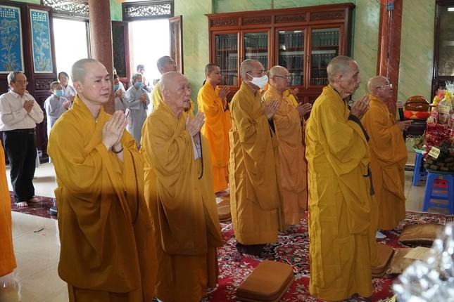Lễ húy nhật Quốc sư Thích Phước Huệ tại chùa Giác Uyển ảnh 3