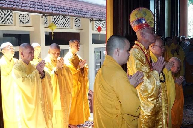 Trang nghiêm lễ tưởng niệm Đức Đại lão Hòa thượng Thích Tịnh Khiết tại Huế và TP.HCM ảnh 8