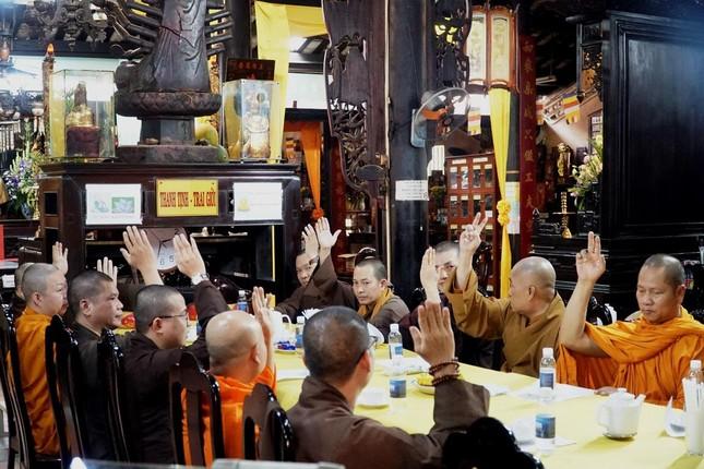 Ban Trị sự GHPGVN quận Tân Bình sẽ tổ chức Đại hội vào tháng 4-2021 ảnh 1