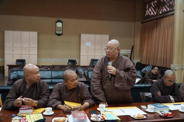 """Trưởng lão Hòa thượng Thích Trí Quảng: """"Chú trọng đạo hạnh trong việc đào tạo Tăng Ni tại Học viện"""" ảnh 3"""