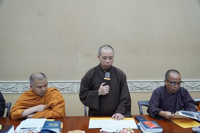 """Trưởng lão Hòa thượng Thích Trí Quảng: """"Chú trọng đạo hạnh trong việc đào tạo Tăng Ni tại Học viện"""" ảnh 7"""