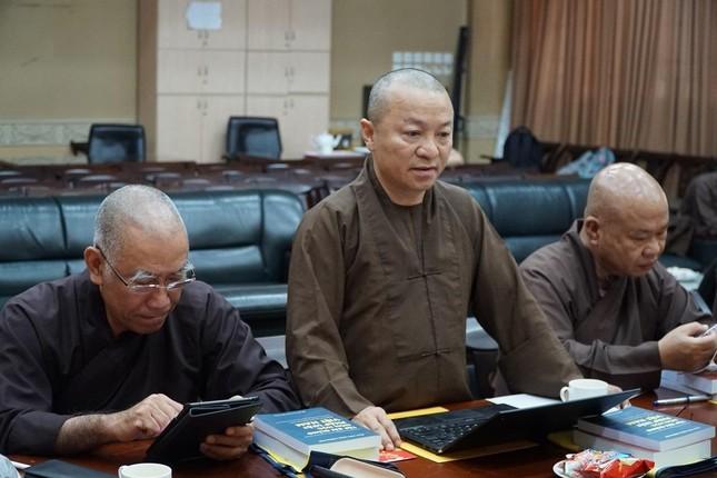 """Trưởng lão Hòa thượng Thích Trí Quảng: """"Chú trọng đạo hạnh trong việc đào tạo Tăng Ni tại Học viện"""" ảnh 4"""