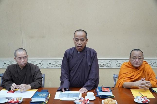 """Trưởng lão Hòa thượng Thích Trí Quảng: """"Chú trọng đạo hạnh trong việc đào tạo Tăng Ni tại Học viện"""" ảnh 5"""