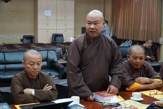 """Trưởng lão Hòa thượng Thích Trí Quảng: """"Chú trọng đạo hạnh trong việc đào tạo Tăng Ni tại Học viện"""" ảnh 6"""
