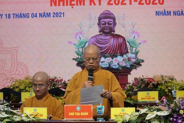 Phiên trù bị Đại hội đại biểu Phật giáo huyện Hóc Môn nhiệm kỳ 2021-2026 ảnh 1