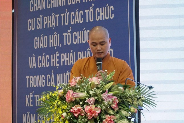 Phiên trù bị Đại hội đại biểu Phật giáo huyện Hóc Môn nhiệm kỳ 2021-2026 ảnh 7
