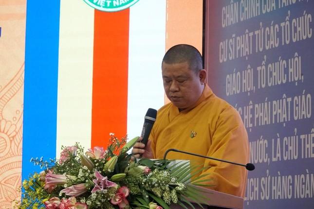 Phiên trù bị Đại hội đại biểu Phật giáo huyện Hóc Môn nhiệm kỳ 2021-2026 ảnh 4