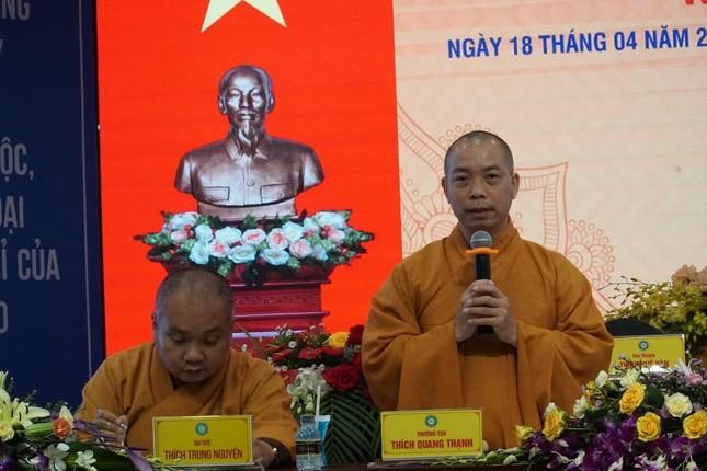 Phiên trù bị Đại hội đại biểu Phật giáo huyện Hóc Môn nhiệm kỳ 2021-2026 ảnh 3