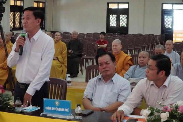 Phiên trù bị Đại hội đại biểu Phật giáo huyện Hóc Môn nhiệm kỳ 2021-2026 ảnh 5