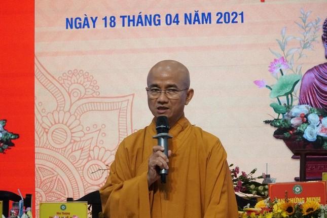 Phiên trù bị Đại hội đại biểu Phật giáo huyện Hóc Môn nhiệm kỳ 2021-2026 ảnh 2