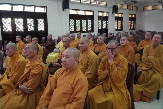 Phiên trù bị Đại hội đại biểu Phật giáo huyện Hóc Môn nhiệm kỳ 2021-2026 ảnh 8