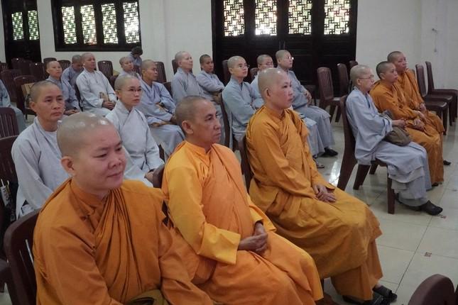 Phiên trù bị Đại hội đại biểu Phật giáo huyện Hóc Môn nhiệm kỳ 2021-2026 ảnh 9