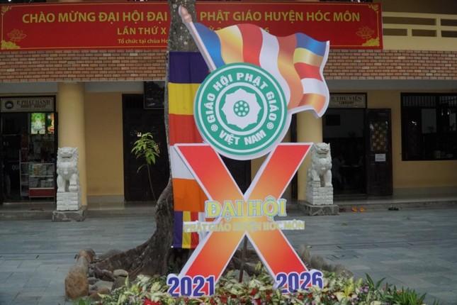 Phiên trù bị Đại hội đại biểu Phật giáo huyện Hóc Môn nhiệm kỳ 2021-2026 ảnh 10