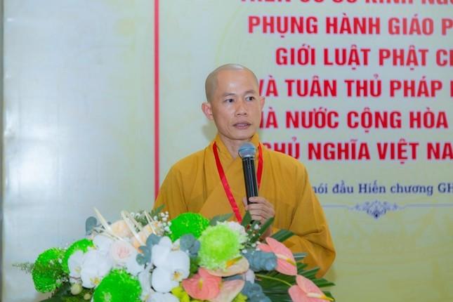 Ban Trị sự Phật giáo quận Tân Bình tổ chức phiên trù bị đại hội ảnh 4