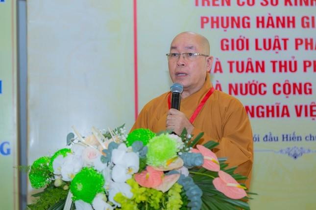 Ban Trị sự Phật giáo quận Tân Bình tổ chức phiên trù bị đại hội ảnh 1