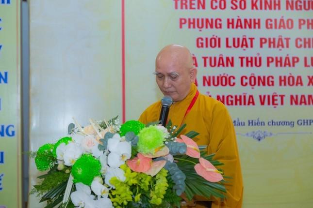 Ban Trị sự Phật giáo quận Tân Bình tổ chức phiên trù bị đại hội ảnh 3