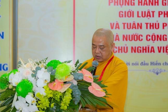 Ban Trị sự Phật giáo quận Tân Bình tổ chức phiên trù bị đại hội ảnh 5