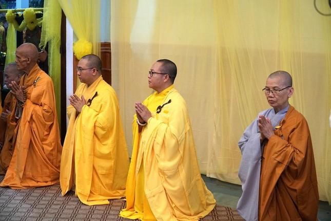 Phái đoàn Chính phủ, Trung ương GHPGVN viếng tang Trưởng lão Hòa thượng Thích Thiện Duyên ảnh 14
