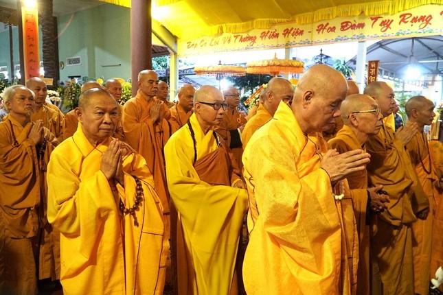Phái đoàn Chính phủ, Trung ương GHPGVN viếng tang Trưởng lão Hòa thượng Thích Thiện Duyên ảnh 7