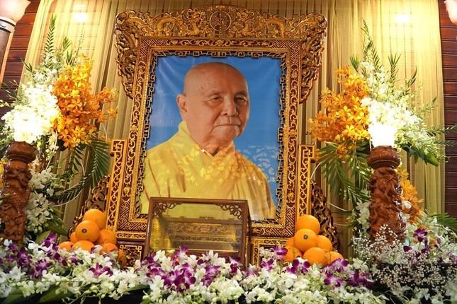 Phái đoàn Chính phủ, Trung ương GHPGVN viếng tang Trưởng lão Hòa thượng Thích Thiện Duyên ảnh 12