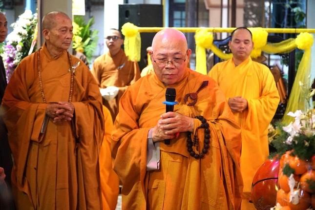Phái đoàn Chính phủ, Trung ương GHPGVN viếng tang Trưởng lão Hòa thượng Thích Thiện Duyên ảnh 8