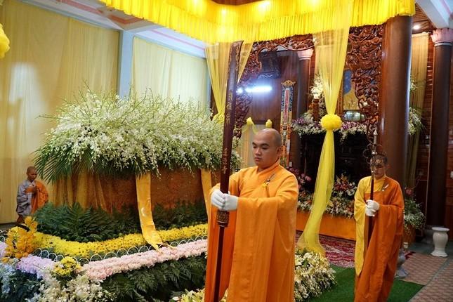 Phái đoàn Chính phủ, Trung ương GHPGVN viếng tang Trưởng lão Hòa thượng Thích Thiện Duyên ảnh 13