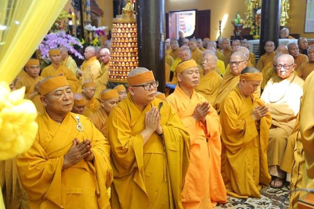 Lễ chung thất cố Hòa thượng Thích Nhật Ấn, bổ nhiệm trụ trì tổ đình Long Thạnh ảnh 2