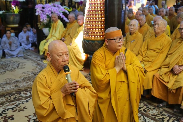 Lễ chung thất cố Hòa thượng Thích Nhật Ấn, bổ nhiệm trụ trì tổ đình Long Thạnh ảnh 5