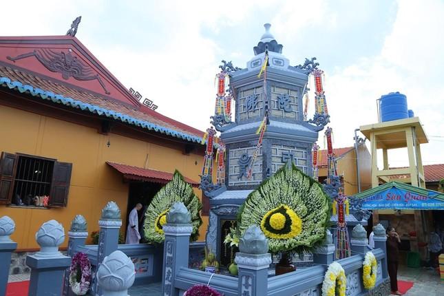 Lễ chung thất cố Hòa thượng Thích Nhật Ấn, bổ nhiệm trụ trì tổ đình Long Thạnh ảnh 11